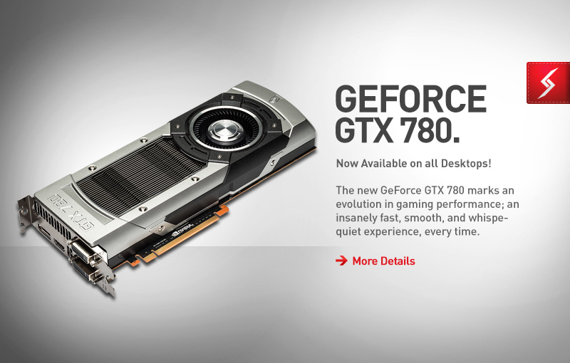GTX 780 Gaming Computers