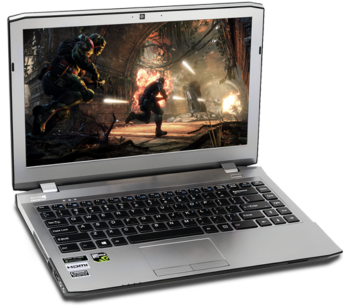 Veloce Gaming Laptop.